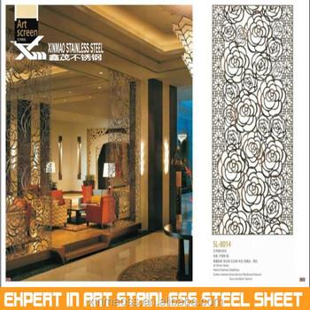 304 Morden Stainless Steel Restaurant Lattice French Room Dividers