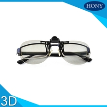 PH0004 Clip On Better quality passive 3D glasses for LG for Panasonic and all Passive 3D TVs & RealD 3D Cinema glasses
