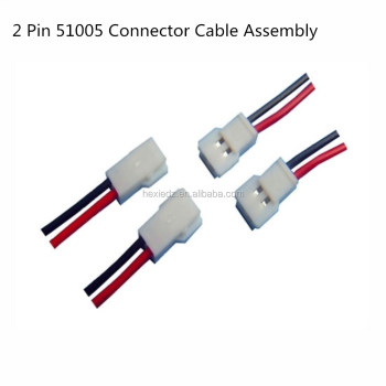 2 Pin Molex 51005 Connector Male Female_350x350 2 pin molex 51005 connector male female cable wire harness buy wire harness supplies at readyjetset.co
