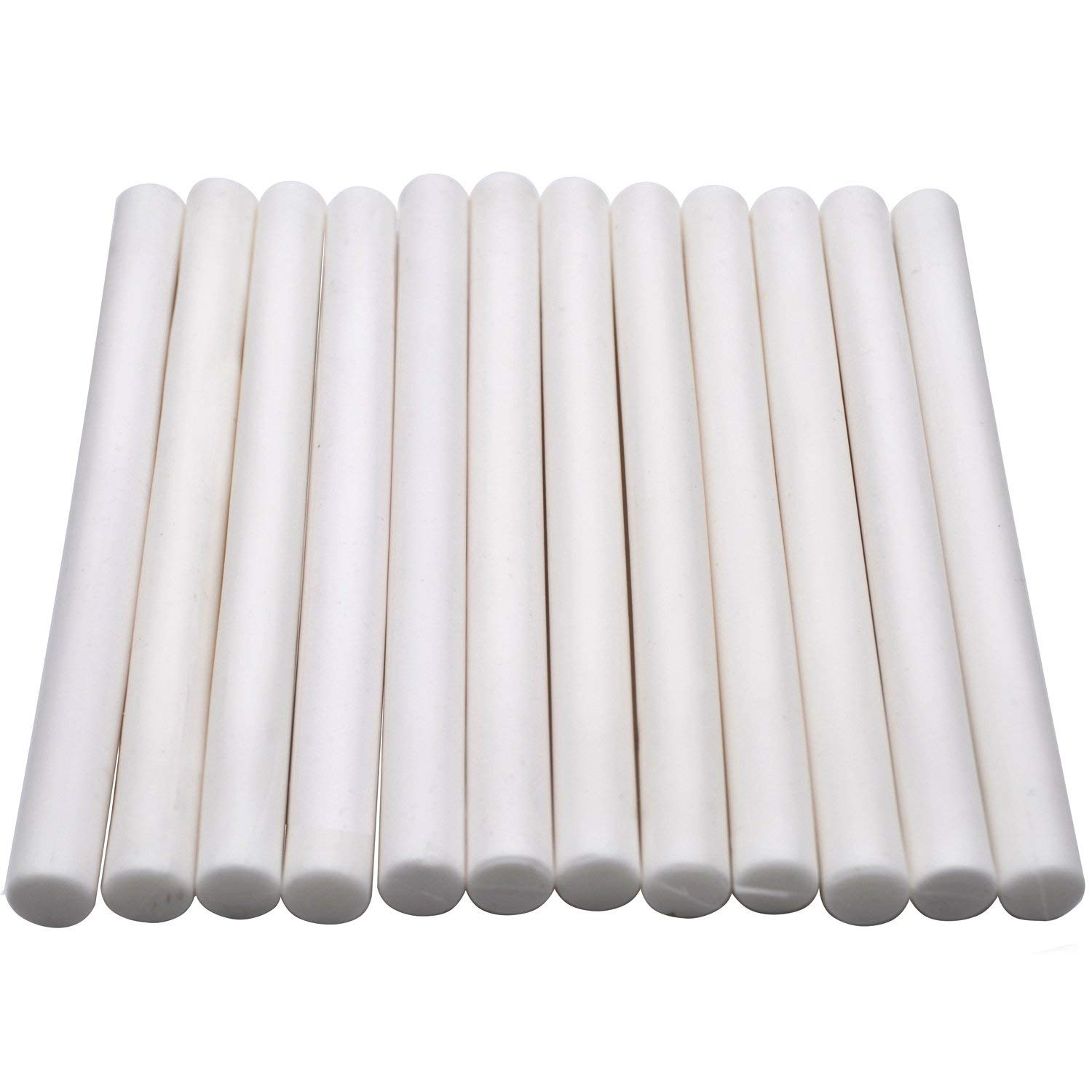 White Wax Glue Gun Sticks for Manuscript Wax Seal Stamp - 12 Sticks