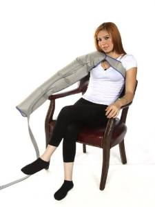 Air Compression Garment - Full Leg, Half Leg, Arm, Waist, Extender Etc (Arm Garment w/Shoulder)