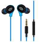 YEROGE hot selling 3.5mm jack plug earbuds mobile Phone Use and Noise Cancelling Function Stereo wired earphones with mic