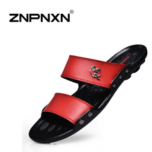 New 2015 Famous Brand Casual Man sandals Slippers Summer Shoes Beach flip flops san1407
