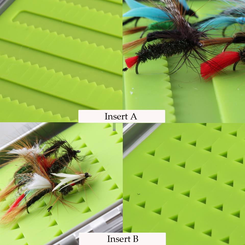Leading Silicone Insert Fly box