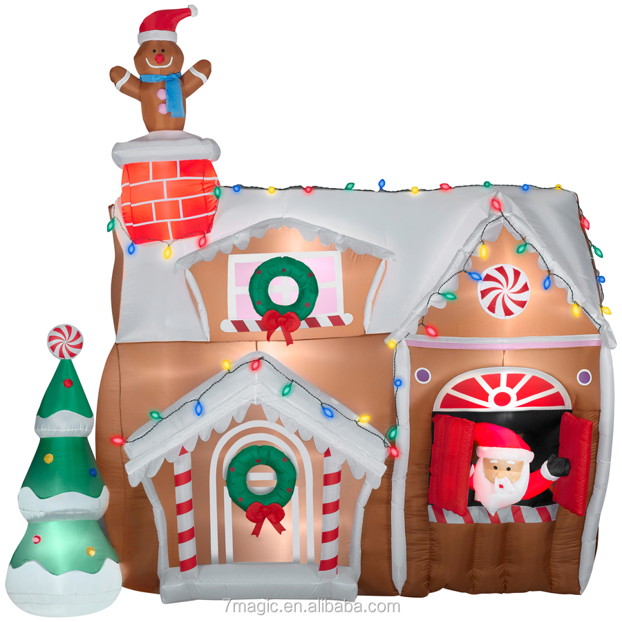 Inflatable Gingerbread House, Inflatable Gingerbread House Suppliers And  Manufacturers At Alibaba.com
