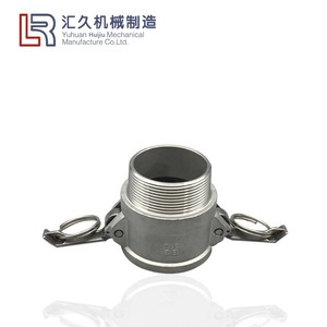 Stainless Steel 304 316 Camlock Connect Coupling Type B Female Coupler Npt Male water quick thread fitting