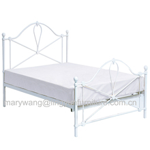 hot sale furniture cheap metal iron twin bed