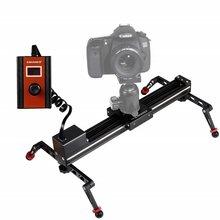 Мини шаговый моторизованный слайдер для камеры видео TimeLapse электрический контроль задержка рельса слайдер стабилизатор для фотографии DSLR ...(Китай)