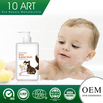 No More Tear Formula Organic Baby Love Shampoo With Gmp Manufacturer