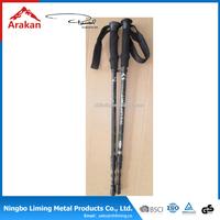 Customized aluminum outdoor adjustable trekking poles