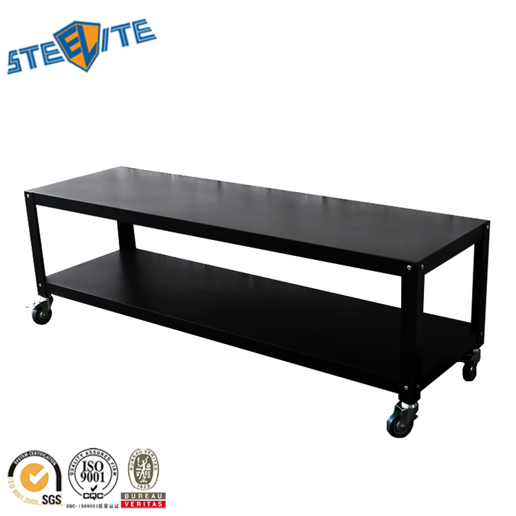 New Design Metal Wall Tv Trolley Stand With Wheels Product On Alibaba