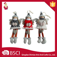 Manufacturers production sale best price christmas elf doll fine christmas doll