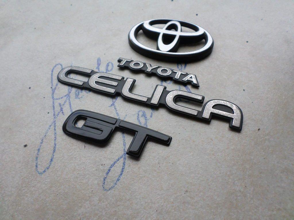 94-99 Toyota Celica GT Tailgate Logo 75471-20070 Emblem Logo Nameplate  Decal Ornament