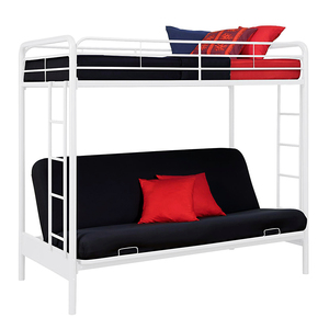 Customized wholesale latest design iron loft palace bed