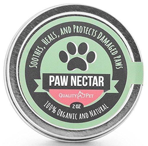 100% Organic and Natural Paw Wax Heals and Repairs Damaged Dog Paws