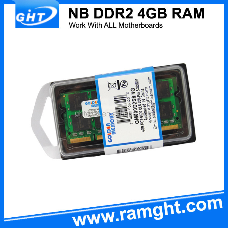 Brand new 800mhz ram memory ddr2 4gb laptop