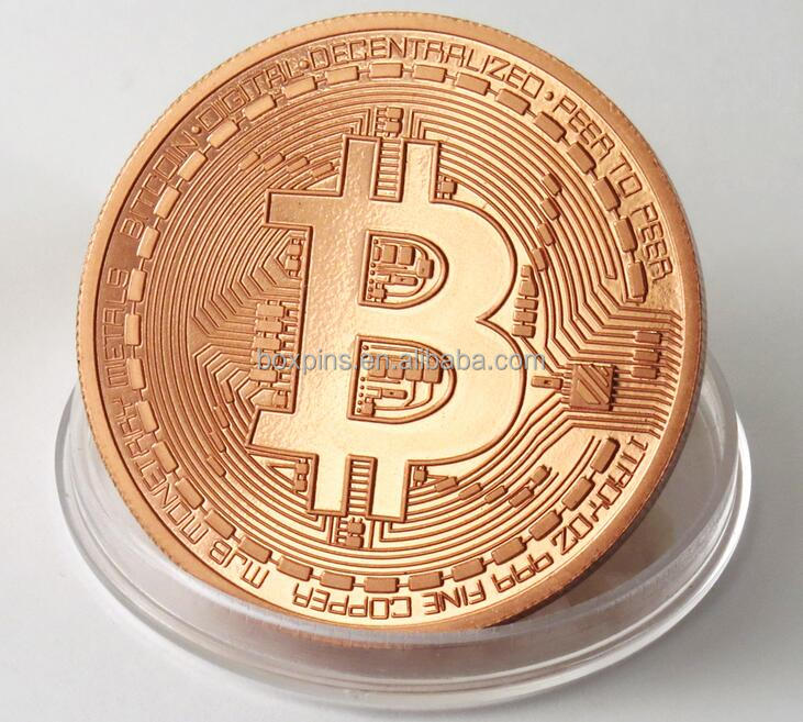 Factory price new cheap metal bitcoin coin wholesale