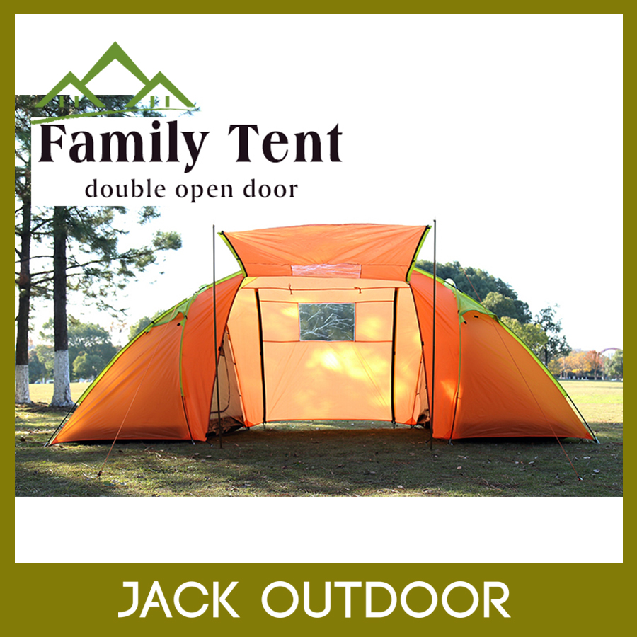 4 Person 2 Room 4 Season glamping luxury family camping outdoor tents
