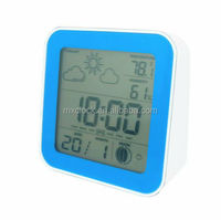 YD8222CE Multifunction world clock radio controlled weather station clock
