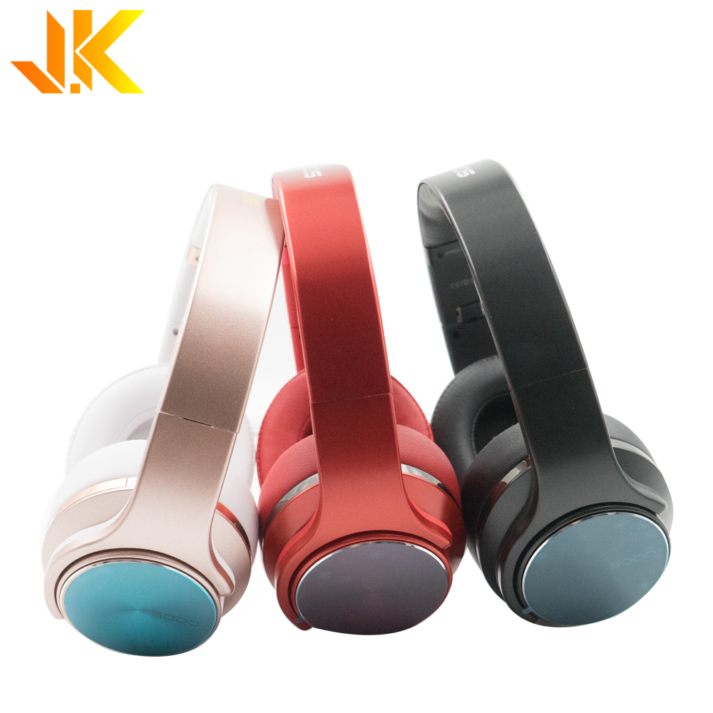 Free <strong>sample</strong> for iphone headphone earphone original SODO MH5 fm radio headset bluedio headphone cheap price