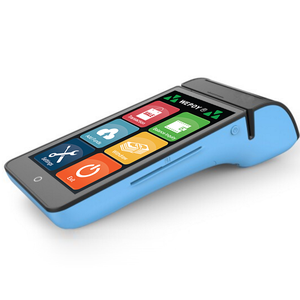 Android Handheld POS Machine, POS Terminal with Printer for E-wallet  Application, top up, Bus Ticket Printer