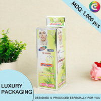 match style paper box, personal care products packaging