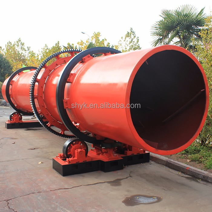 Economical used rotary sand dryer / sand dryer price / sand drying machine