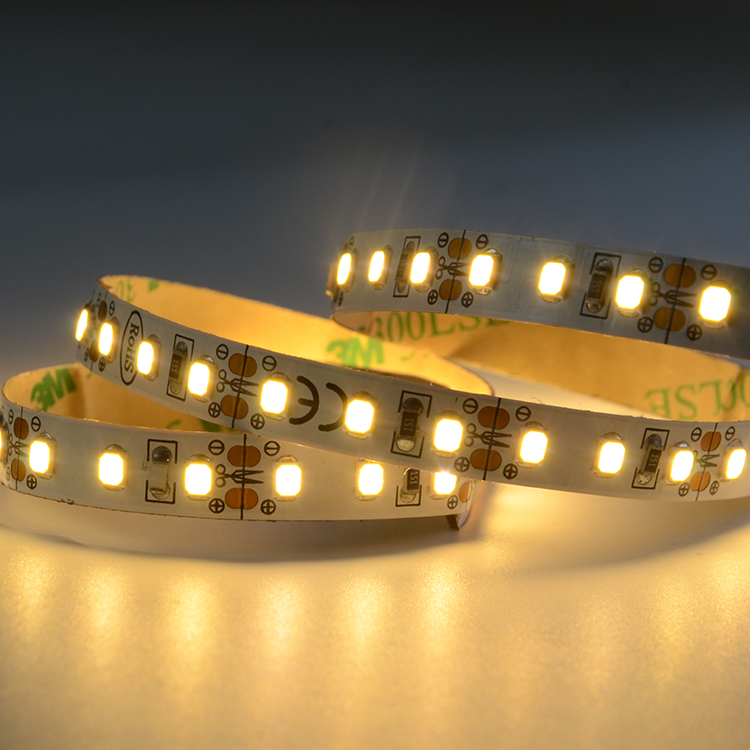 EU market arbitrarily fixed 120leds 12V 8mm wide CRI90 2835 LED strip lighting for swimming pool