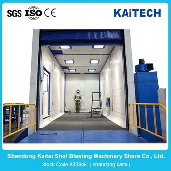 Dustless Sand Blasting Room From China Supplier With Iso ...