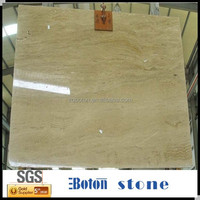 Hot Sale A Grade Nature Flooring Stone Polished Indoor Galala Yellow Marble Flooring Tiles