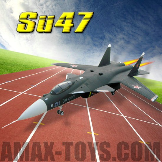 ep-lx08008 SU47 remote control airplane rc plane Brushed motor RTF