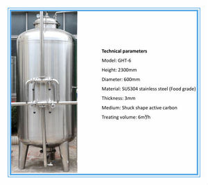 pure water filling system /active carbon filter