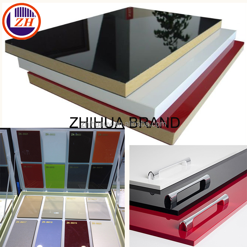 zhihua high gloss acrylic laminate mdf boards sheets panels online for sale