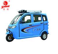 New Design Closed electric tricycle for Passenger