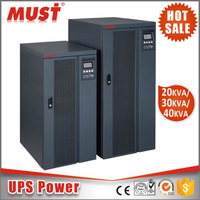 MUST Online UPS AC380V to AC380V External Battery Optional DC384VDC