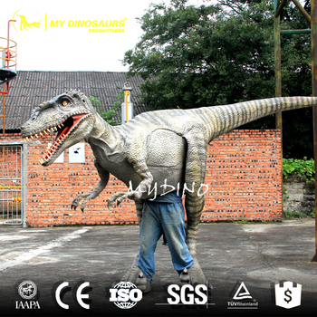 My-Dino O12-1 Adult Walking Dinosaurs Custom Costume