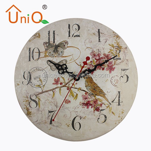 M1212 China style best quality antique quartz wall clock