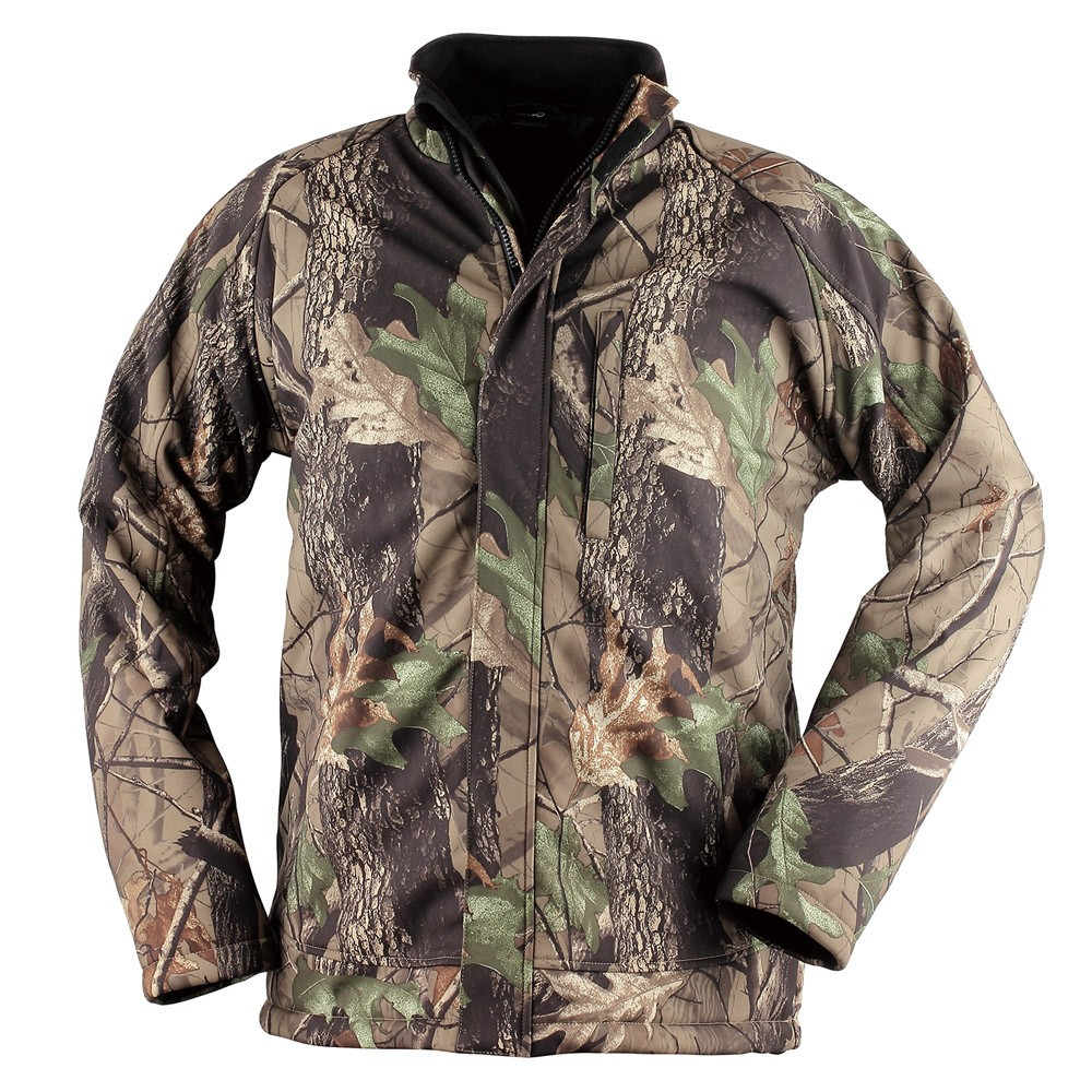 Material & Excelllent Workmanship Men Camo Winter Jacket Battery Heated
