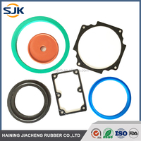 Adhesive to metal parts FKM / Viton viton rubber gasket seal parts