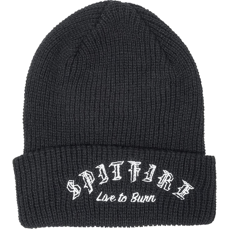 b55171b9dfd Get Quotations · Spitfire Old E Ltb Cuff Beanie Black Skate Beanies