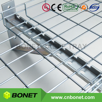 Cantilever Wall Bracket Support For Heavy Duty Wire Mesh Cable Tray ...
