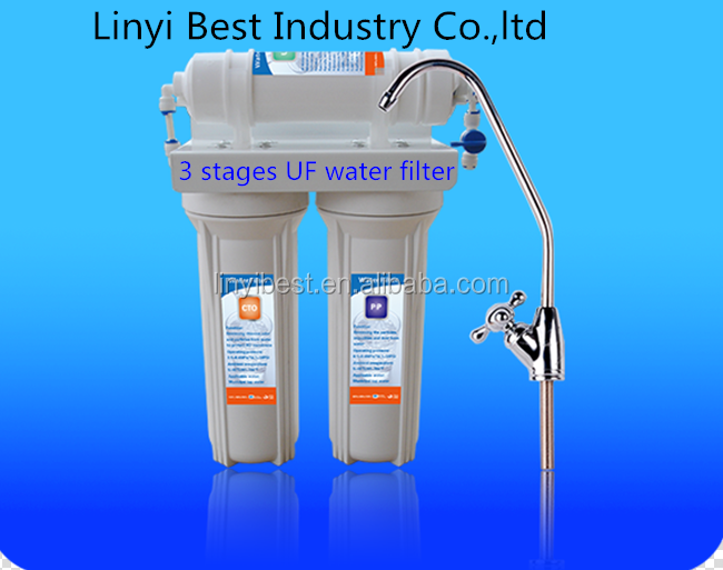 wall mount 3 stage UF water filter