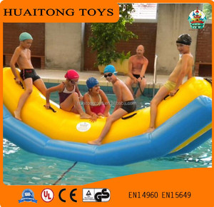 2017 kids/adults inflatable float inflatable seesaw amusement water park games for sale