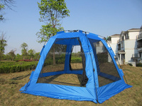 large portable gazebo camping tent with mosquito net