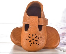 Brown real leather baby shoes <span class=keywords><strong>2013</strong></span> baby 모카신 baby shoes