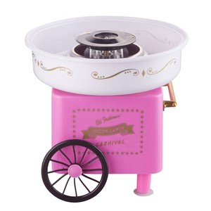 mini easy-making for kids red floss cotton candy maker