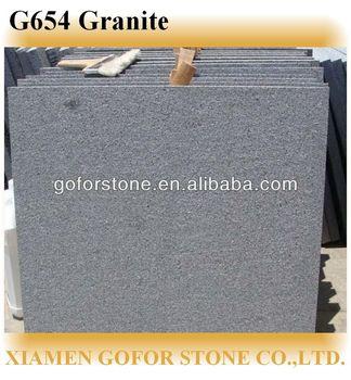 Flamed Brushed Finish G654 Granite