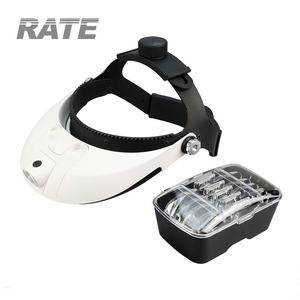 MG81001-H Medical Head Loupe Magnifier with LED Lights