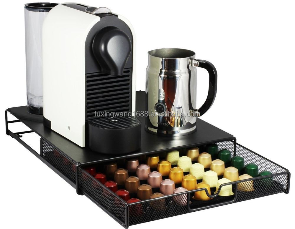Decobros dosette de caf de rangement maille nespresso - Support mural capsules nespresso ...
