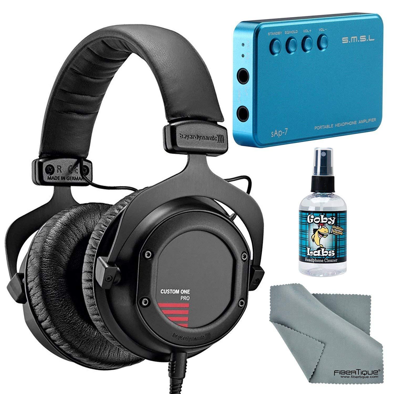 7fb5075a56f Get Quotations · Beyerdynamic Custom One Pro Plus Headphones with Amplifier  + Cleaner + Fibertique Cloth Bundle